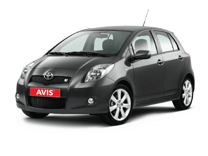 Toyota Yaris to move around Tbilisi