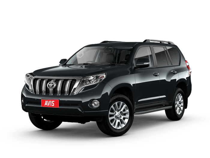 Rent Toyota Prado, spacious and practical car to explore Georgia's breath-taking mountain regions.