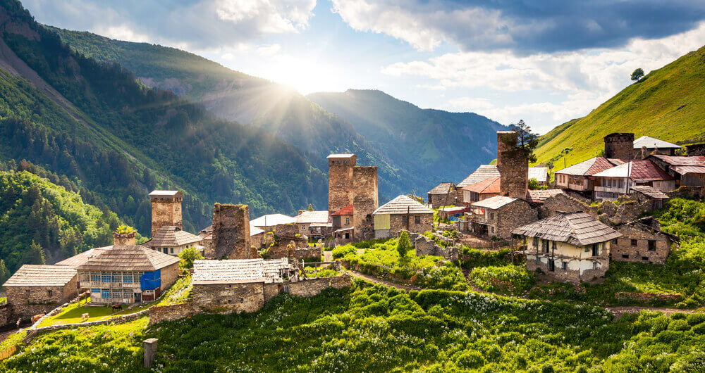 day trips from Tbilisi, Stepancminda