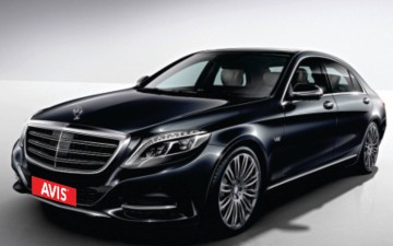 Mercedes S Class Chauffeur Drive Only