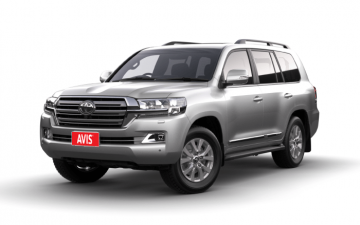 Toyota Land Cruiser 200 (Chauffeur Drive only)
